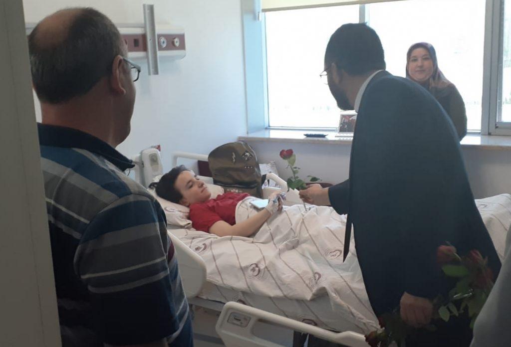 Müftülük Yetkililerinden Hastanemize Ziyaret